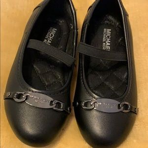 Black MK shoes